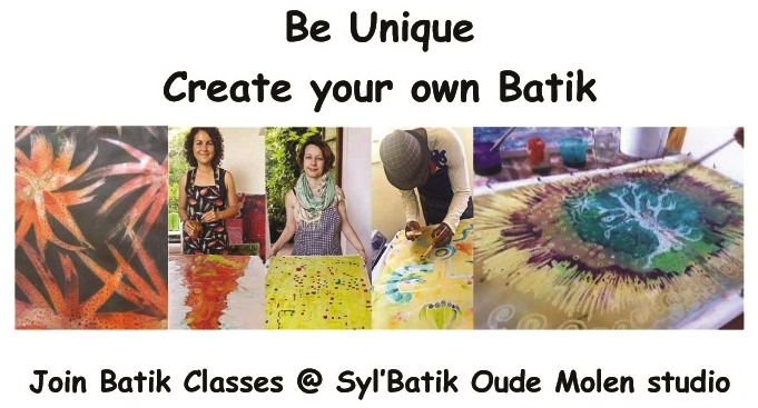batik classes at Oude Molen Syl'Batik